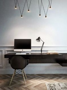Elegant Hipster Design Small Home Office Ideas