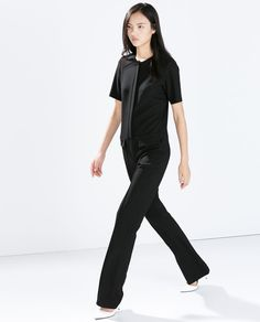 ZARA - SALE AW.14 - FITTED JUMPSUIT WITH FLAP POCKETS Reg. $149 now $9.99