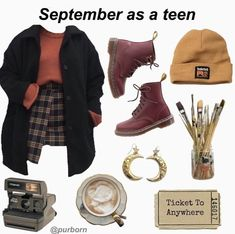 Retro Outfits, Grunge Outfits, Winter Outfits, Vintage Outfits, Casual Outfits, Fashion Outfits, Rock Outfits, Punk Fashion, Lolita Fashion