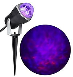 Gemmy Fire and Ice Lightshow Projection Purple / Orange S...