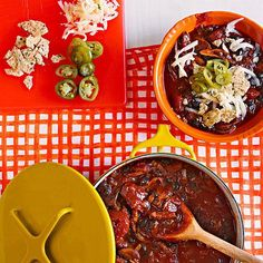 Mushroom, Ancho and Black Bean Chili #TexMex #30MinuteMeals