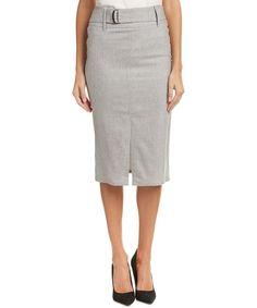 Max Mara Max Mara Wool-Blend Pencil Skirt at Bluefly.com.