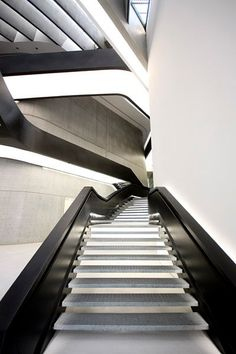 Stairs - Maxxi Museum, Rome, Zaha Hadid Architects