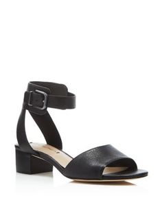 Via Spiga Tahara Low Heel Ankle Strap Sandals | Bloomingdale's
