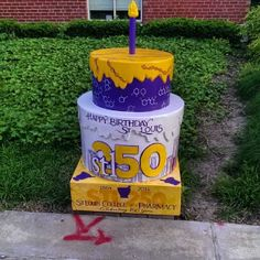 #stl250 St Louis College of Pharmacy Birthday Cake