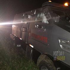 NONATO NOTÍCIAS: Carro-forte é alvejado por bandidos durante tentat...