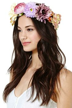 Alisha Flower Crown