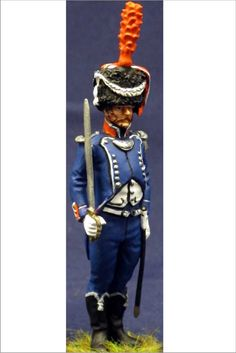 NP 202 7 TH FRENCH LIGHT INFANTRY OFFICER