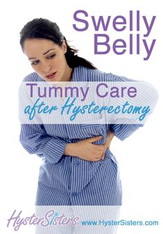 Swelly Belly Tummy Care after hysterectomy