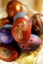 Greek Orthodox Easter Customs. In Greece, the actual Easter festival begins ...