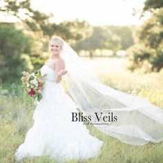 Wedding Veil - Chapel Bridal Veil - Ivory Cathedral Veil - Chapel Veil - Available in 10 Sizes & 11 Colors - Fast Shipping! Chapel Length Veil, Veil Length, Chapel Veil, Cathedral Wedding Veils, Chapel Wedding, Rustic Wedding, Fingertip Veil, Short Veil, Thing 1