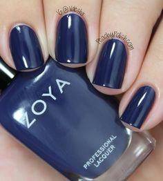 Zoya: Fall 2013 Cashmere Collection Swatch: Sailor