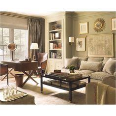 Master sitting room/office idea.