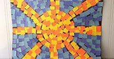 Como fazer mosaicos romanos para crianças. Os antigos romanos criaram belas obras de arte em mosaico. De acordo com a BBC, os mosaicos usados em Roma serviam para enfeitar a casa e variavam entre desenhos comuns comprados e desenhos feitos sob encomenda. Para se realizar um trabalho divertido em família, pais e filhos podem fazer suas próprias obras de arte de mosaico com algum papel ...