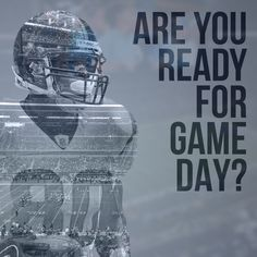 Today is game day! Are you ready? #SuperBowl #GameDay
