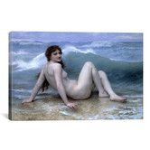 Found it at Wayfair - 'The Wave (La Vague)' by William-Adolphe Bouguereau Painting Print on Canvas