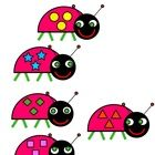 LIttle Bug Matching Game - FREE download file folder game on my TpT!