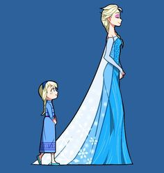 Elsa Queen discovered by Kaedema on We Heart It