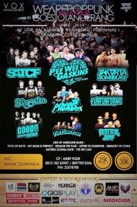 #INFO #EVENT #PIN - WAPP Tour : Pop Punk Goes to Tangerang [2/5] #INDONESIA