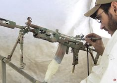 Red Army: Painting Guns In Multicam Howto
