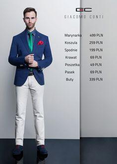 Stylizacja Giacomo Conti: Marynarka Arcadio 15/01 M, Koszula Giuseppe 15/03/02-K, Spodnie Riccardo 14/16 T, Buty G5856