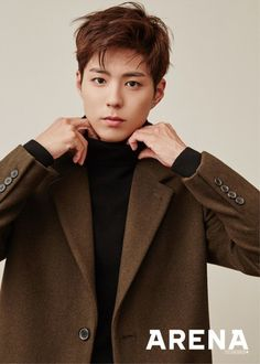 Park Bo Gum models the perfect boyfriend look for 'Arena' | allkpop.com