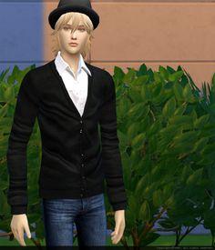 Black Tie Shirt + Pants Twinklestar