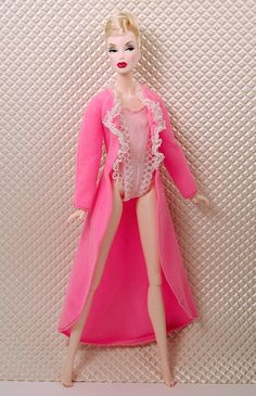 Barbie Statuesque Pink Teddy and/or Robe