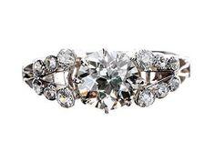 Belle Epoque Platinum Diamond Ring
