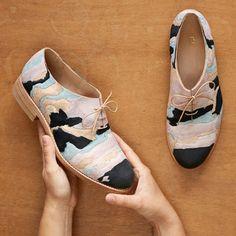 Amazing! Geology of #Shoes by Barbora Vesela