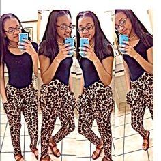 Cheetah Mc Hammer Pants Cheetah Mc Hammer Pants #GirlsLoveCheetah Pants