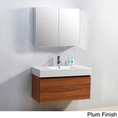 Virtu USA Zuri 39-Inch Single Sink Bathroom Vanity Set | Overstock.com