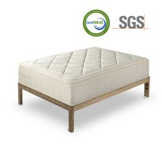 Keetsa Tea Leaf Dream® - CertiPur-US Certified Bio Memory Foam and Hemp Blended SGS Tested Fabric with Independent Pocketed Coil. Our Most Plush and Body-Relaxing Mattress. Best Mattress, Foam Mattress, Mattress Pad, Steel Bed Frame, Air Ventilation, When You Sleep, Memory Foam, Memories, Mattresses