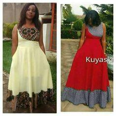 African Dresses For Women, African Attire, African Wear, Printed Wedding Dress, Cute Dresses, Summer Dresses, African Fashion Ankara, Power Dressing, African Lace