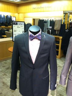Daniel Cremieux Blue Wool Tailored Double Breasted Three
