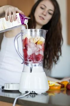 Healthy Snack Ideas for Your Hungry Teens: Teens can make smoothies after school.