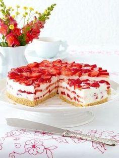 Erdbeer-Philadehlpi-Torte