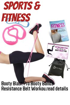 Booty Blast Pro Booty Bands Resistance Belt Workout Band Bootybands to Sculpt Your Butt | Bonus Workout Guide and Fitness E-Book Exercise Bands, Workout Guide, Sculpting, Booty, How To Plan, Fitness, Sculpture, Swag, Sculptures
