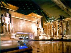 I've only stayed here a couple of times when in town for Conventions   Lobby Luxor Hotel Las Vegas