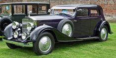 1934 Rolls Royce Phantom II Sports Saloon by Kellner of Paris.