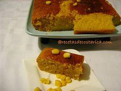 Cocina Costarricense: pan de maíz dulce