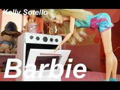 FOGÃO PARA COZINHA CASA DA BARBIE MOVEIS BARBIE MONSTER HIGH E OUTRAS - YouTube