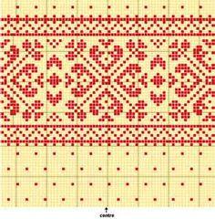 Image detail for -Machine knitting PDF pattern fair isle beanie hat cap optional jumbo ...