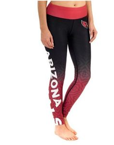 Women's Arizona Cardinals Cardinal Gradient Leggings #NFLStyle #AZCardinals