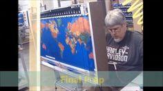 Geochron World Clock Rebuild Time lapse