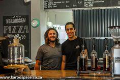KarooBrew Coffee and Pizza in Cradock - Karoo Space Milk Tart, Iced Tea, Light Recipes, Pizza, Space, Display, Milk Cake, Ice T, Light Chicken Recipes