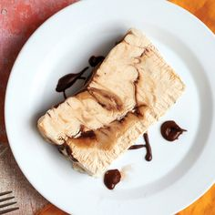 """The texture of semifreddo (Italian for """"half-cold"""") lies somewhere between ice cream and mousse. Slice this freezer treat for a neat presentation, or serve it in scoops."""