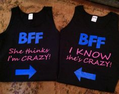 Best Friend Matching Shirt Ideas Images & Pictures - Becuo