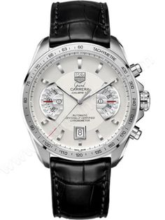 Tag Heuer Grand Carrera Chronograph Calibre 17 RS Mens Wristwatc