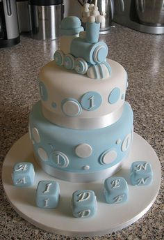 boys 1st birthday cakes - Google Search